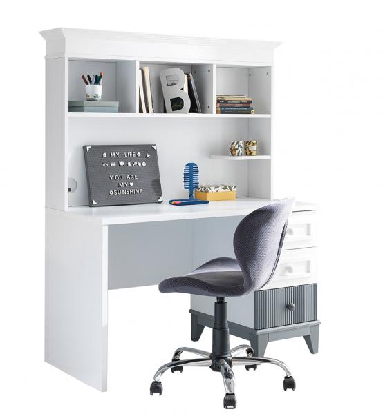 Schreibtisch MAYA mit Aufsatz