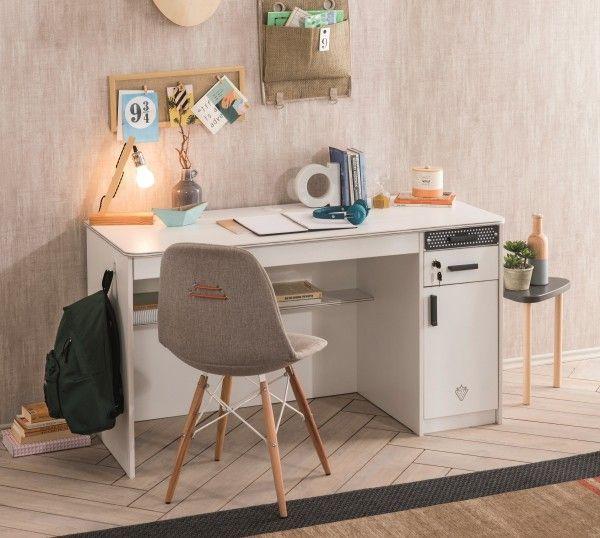 Schreibtisch WHITE, groß