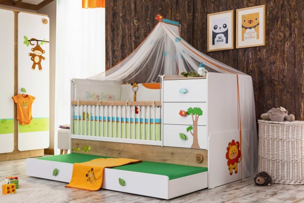 Cilek mitwachsendes Babybett