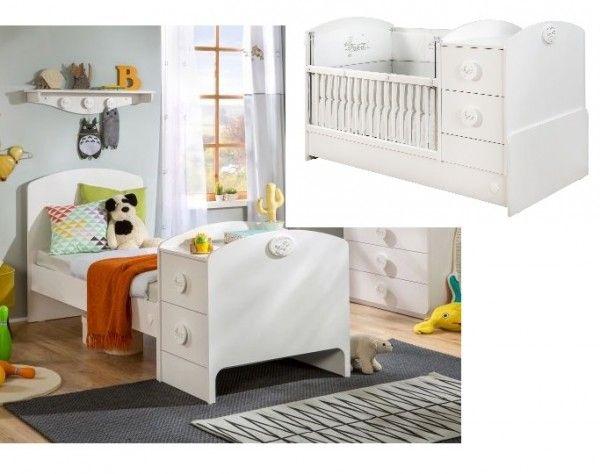 Cilek BABY COTTON mitwachsendes Babybett, 75x160 cm