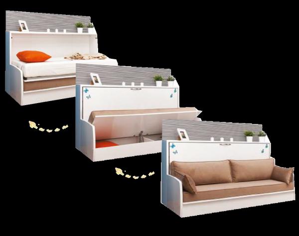 Multimo DIVA SOFA BED mit Stauraum