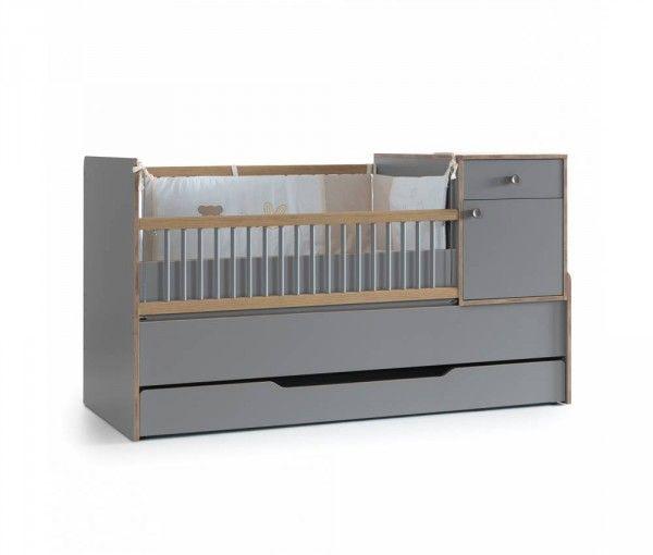 Mitwachsendes Babybett FINDIK, 80x130 / 80x180