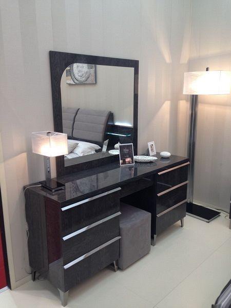 Kommode ELITE GREY BIRCH, italienische luxus Möbel, mit Schmuckschublade