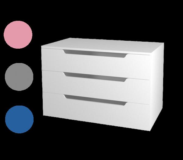 Kommode WINDFALL mit 3 Schubladen
