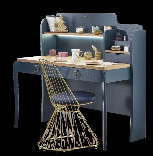Almila ELEGANT BLUE Schreibtisch