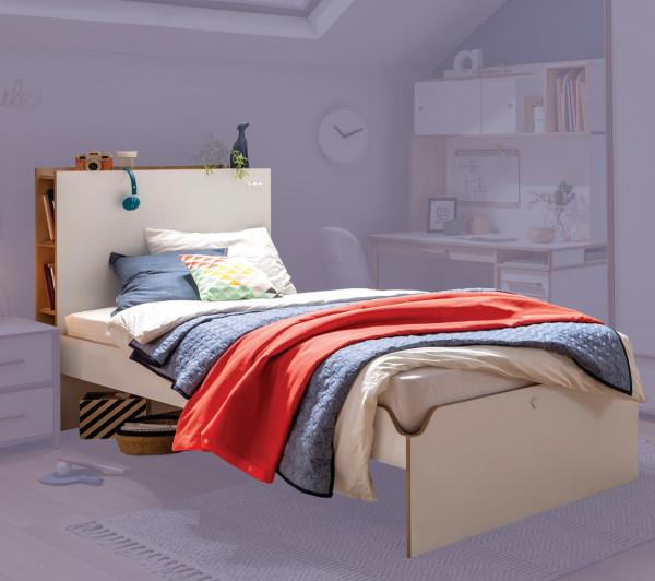 Cilek MODERA Bett mit Stauraum, 100x200 cm
