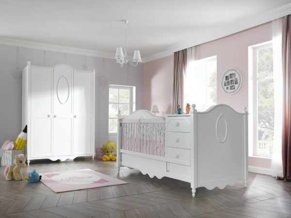 Babyzimmer ROSE, 2-tlg.