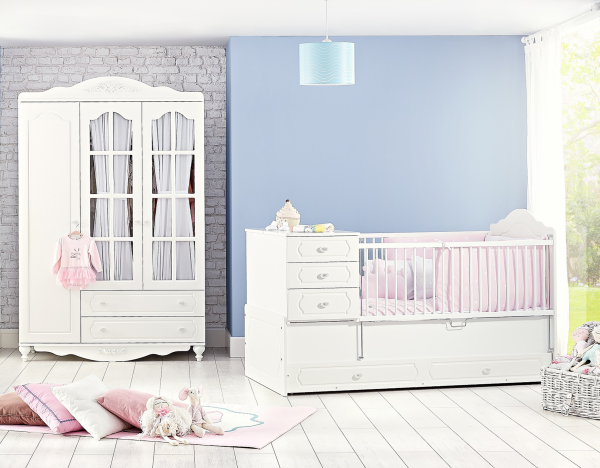 Babyzimmer COUNTRY, 4-teilig
