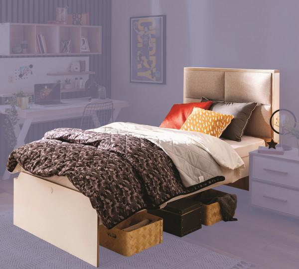 Cilek MODERA Bett mit Polsterung, 100x200 cm