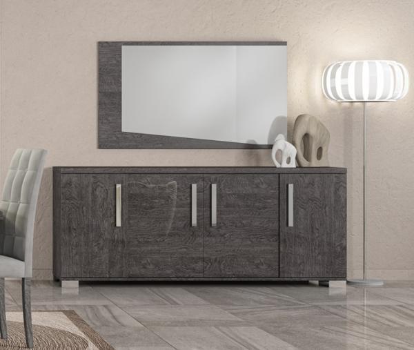 Sideboard SARAH GREY BIRCH, italienische luxus Möbel