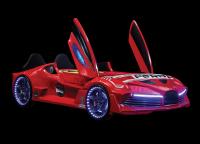 Autobett AERO Extreme rot, 90x190 cm
