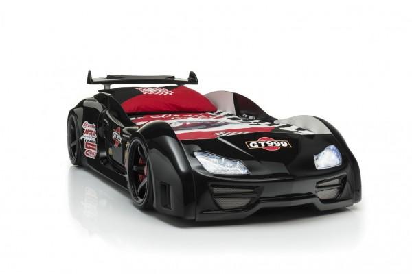 Autobett GT 999 Schwarz mit Sound + Fernbedienung