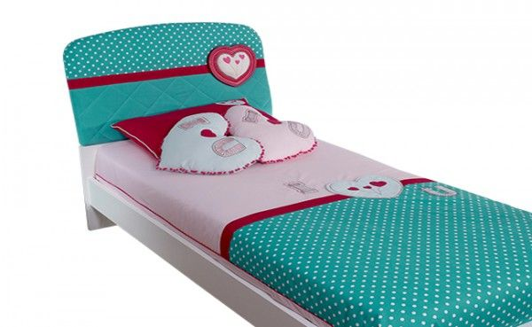 Bettbezug LOVING, 120x200cm mit Kissen