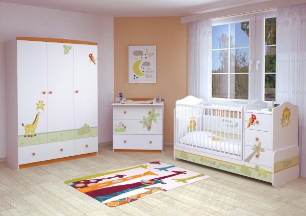 Babyzimmer 3-teilig URWALD (I)