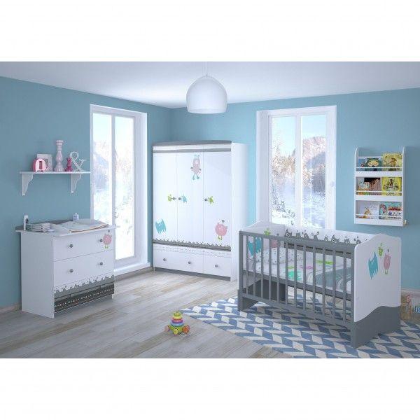 Babyzimmer 3-teilig MONSTER (II)