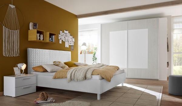 Schlafzimmer FRELI weiß/ grau