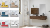 Garderobe INFINITY 3-tlg, 8 Farben