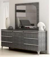 Kommode ELITE GREY BIRCH, italienische luxus Möbel, mit Türe