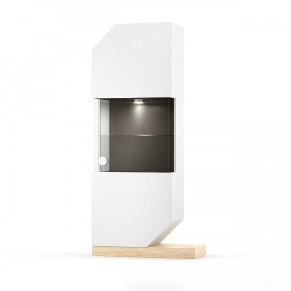 Absynth Vitrine Nook mit LED Beleuchtung in 4 Farben