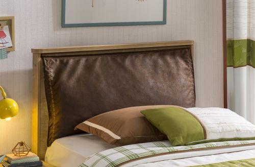 Cilek mocha jugendbett 120x200 mit nachttisch for Jugendzimmer 120x200