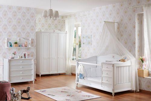 mitwachsendes babybett rose in freiburg im breisgau kaufen bei. Black Bedroom Furniture Sets. Home Design Ideas