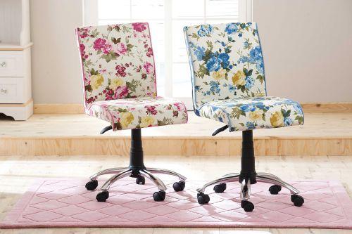 cilek flora summer schreibtischstuhl pink ebay. Black Bedroom Furniture Sets. Home Design Ideas