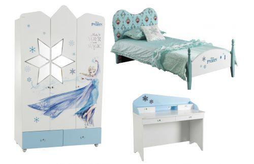 Details zu Eiskönigin: ANNA und ELSA Kinderzimmer-Set, 3-tlg.