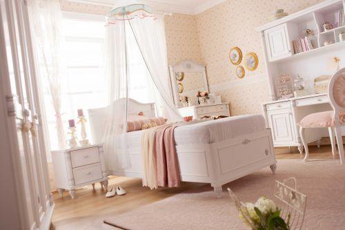 cilek romantic bett mit bettkasten 90x190 cm ebay. Black Bedroom Furniture Sets. Home Design Ideas
