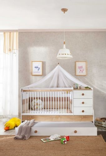cilek natura baby mitwachsendes babybett ebay. Black Bedroom Furniture Sets. Home Design Ideas