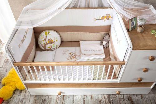 cilek natura baby mitwachsendes babybett ebay. Black Bedroom Furniture Sets. Home Design Ideas