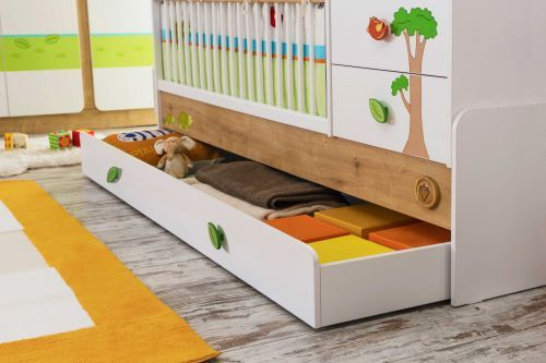 cilek safari natura mitwachsendes babybett ebay. Black Bedroom Furniture Sets. Home Design Ideas