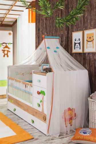 cilek baby safari betthimmel ebay. Black Bedroom Furniture Sets. Home Design Ideas