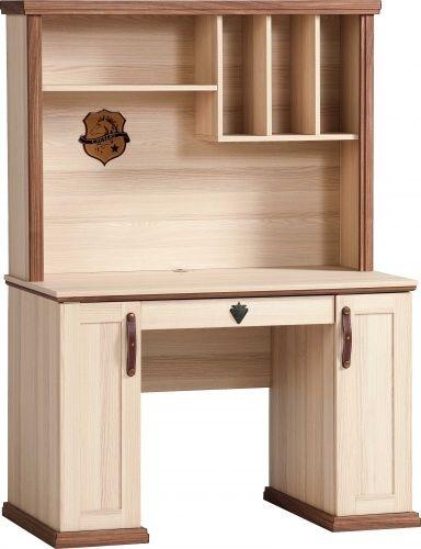 cilek royal schreibtisch mit aufsatz i 736842442998 ebay. Black Bedroom Furniture Sets. Home Design Ideas
