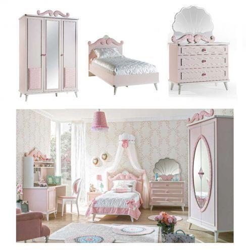 Mädchen Schlafzimmer ROSA, 3-tlg. | eBay