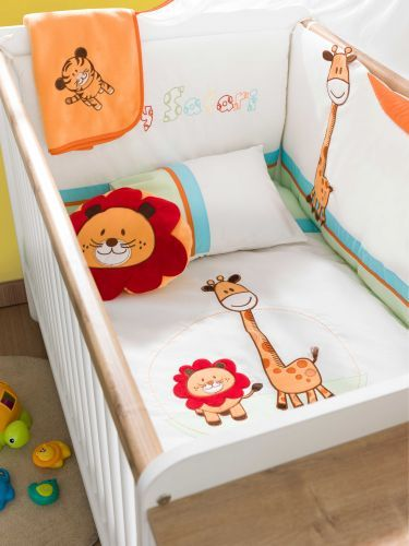 cilek baby safari bettw sche set 75x115cm ebay. Black Bedroom Furniture Sets. Home Design Ideas